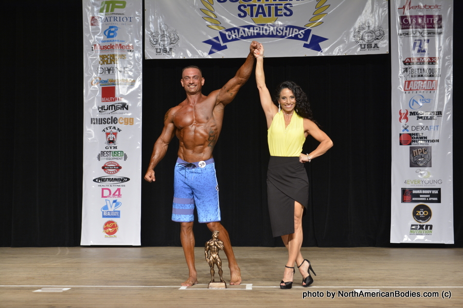 Eugene Zamora, Men's Physique – Over 40 & Masters Overall