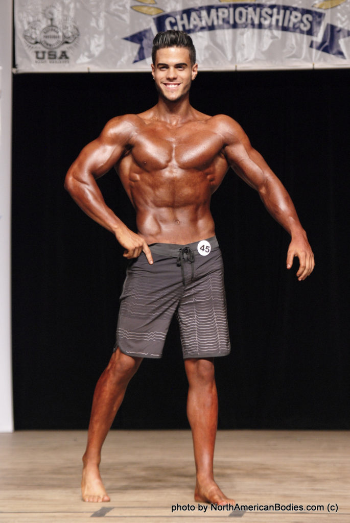 Daniel Carrazana Men's Physique Teen