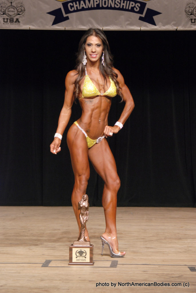 Jeannette McCoy Bikini Novice, Over 30 and Masters Overall