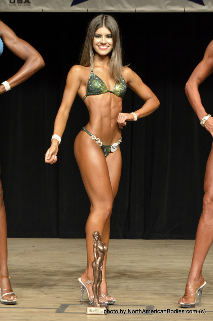 Thaissa Salvador Marvil Bikini Novice 1st Time