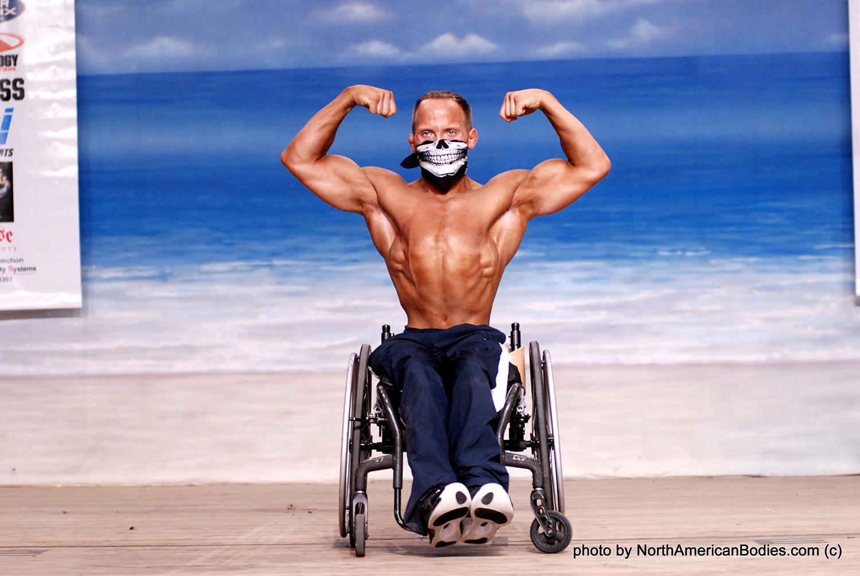Guest Poser IFBB PRO Tyler Brey National Wheelchair Champion